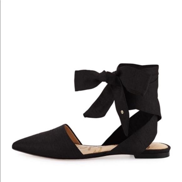 a0f343ff2 Sam Edelman Brandie silk dupioni pointed toe flats.  M 5b161c78aa5719a14b297d8f